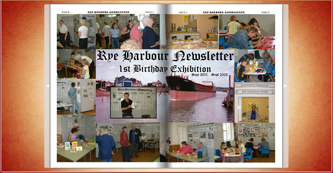 Click to go to Rye Harbour Newsletter Flipbook